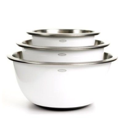 Stainless Steel Mixing Bowls – Oxo Mixing Bowl Set