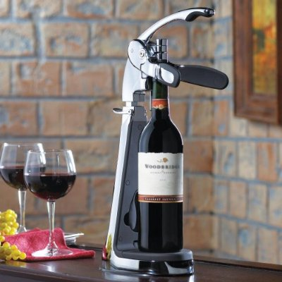 Countertop Wine Opener : Countertop Wine Opener ? Connoisseur?s Table Top Wine Bottle ...
