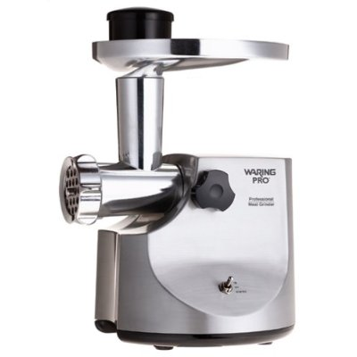 Stainless steel meat grinder - waring Pro MG-800