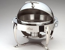 All Clad Round Stainless Steel Chafer