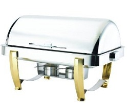Browne Halco Stainless Steel Chafer Rectangular