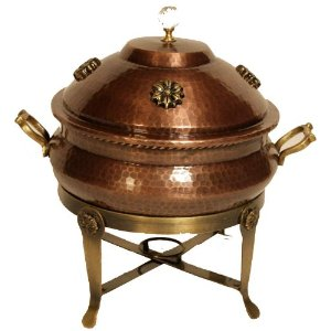 Shastra Copper Chafing Dishes