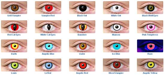 Halloween Lenses – Halloween Eye Contacts | RecipeDose - Quick And ...