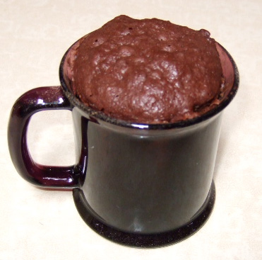Microwave Chocolate Cake In A Mug Recipe — Dishmaps