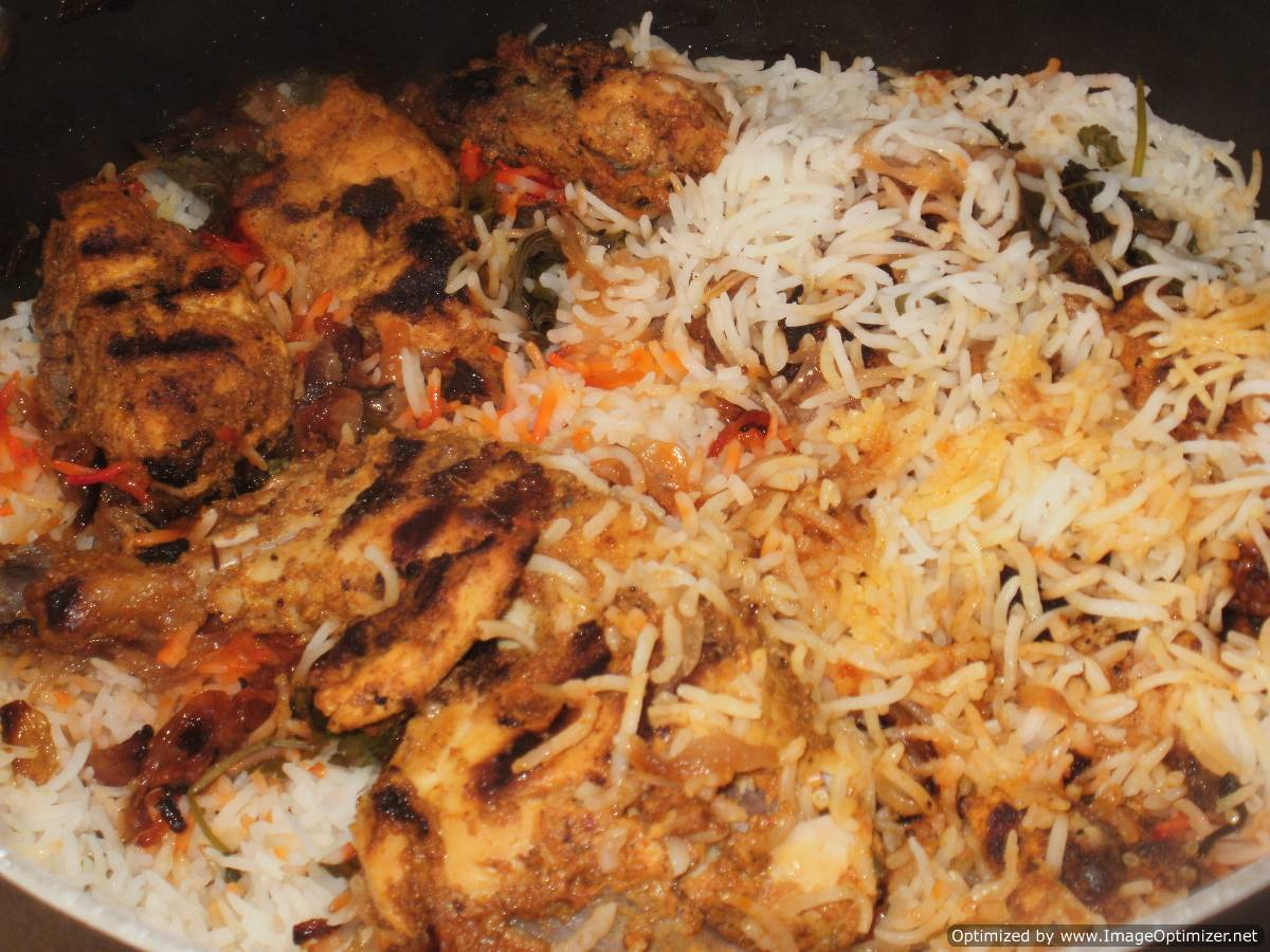 Dum Chicken Biryani