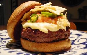 Nacho Salsa Burger