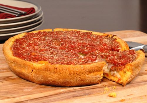 Chicago Deep Dish Pizza Recipe