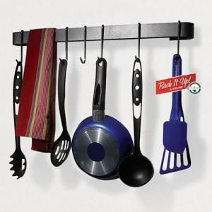 Kitchen Hanging Utensil Bar