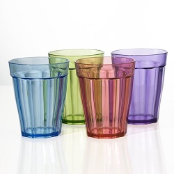 Rhapsody Kids Unbreakable Plastic Juice Cup Tumblers