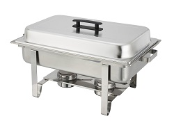 Winware 8 Qt Stainless Steel Chafer