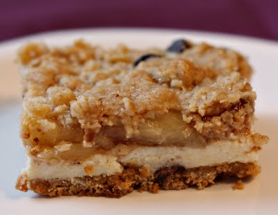 Apple Streusel Cheesecake Bars | RecipeDose - Quick And Easy Cooking ...