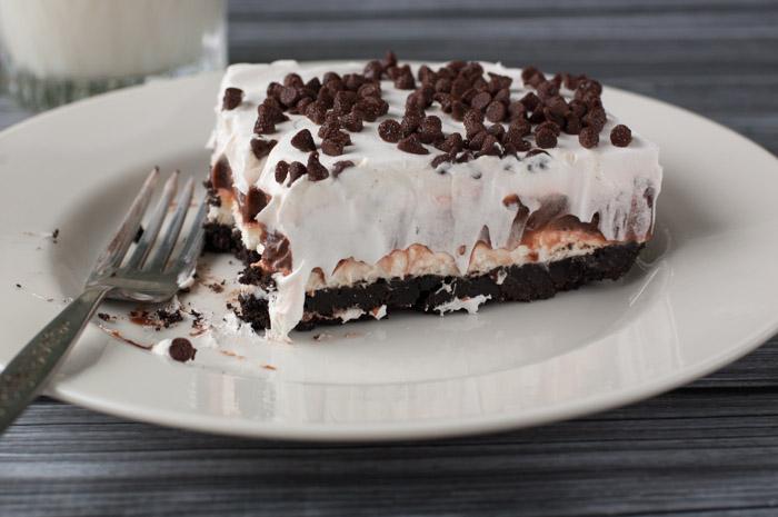 Chocolate Lasagna Cake