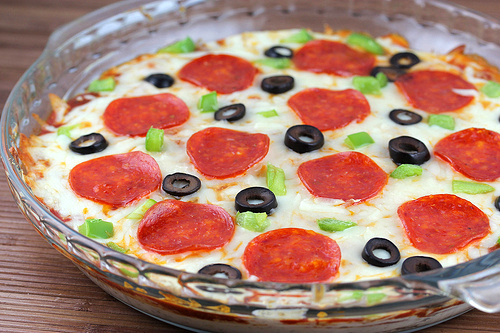 Pepparoni Pizza Dip