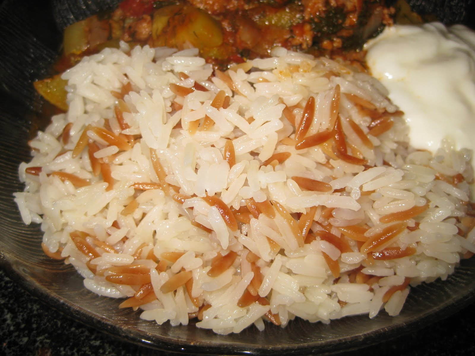 Turkish Rice Pilaf