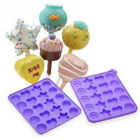 Assorted Shapes Silicone Cake Pop Mold