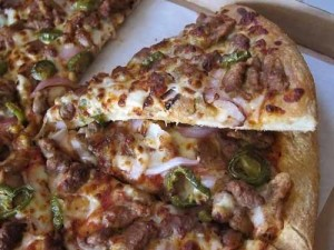 Sicilian Chicken Pizza