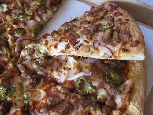 Sicilian Chicken Pizza