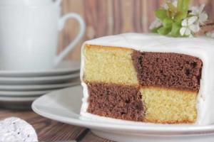 Buttenberg Cake