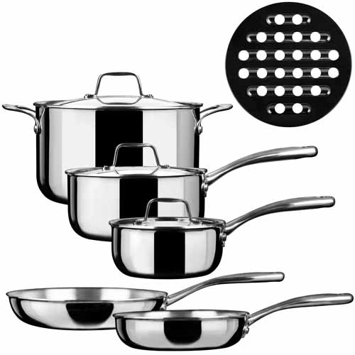 Duxtop Induction Cookware 9-Pc Set