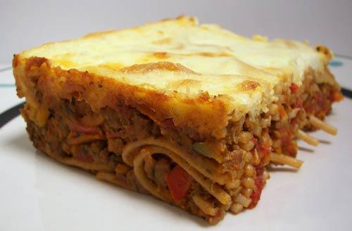 Spaghetti Cake