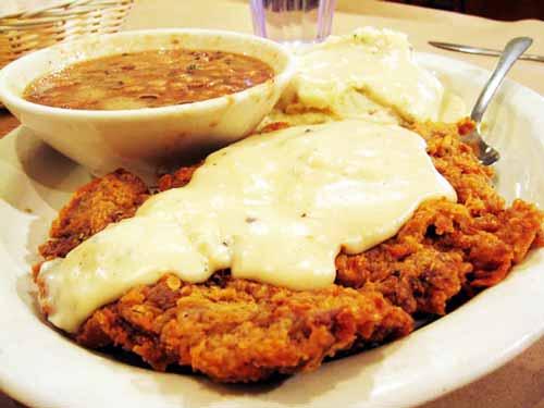 Chicken Fried Steak in Texas